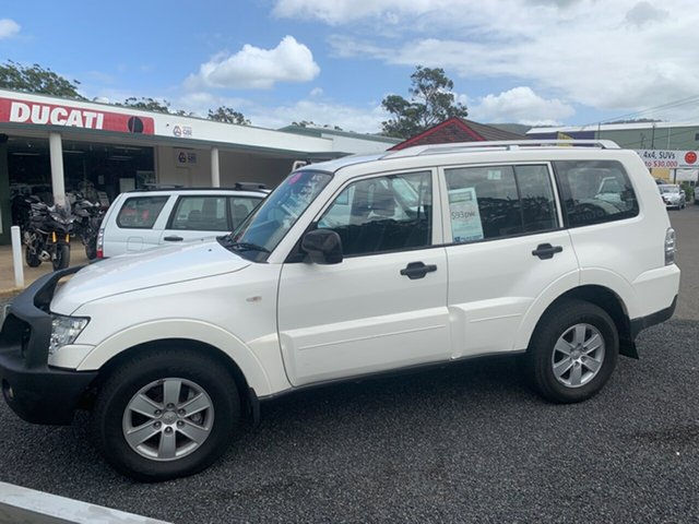 Used Mitsubishi Pajero  , 2007 Mitsubishi Pajero GLX Diesel 7 seater 4x4 White 5 Speed Sports Automatic Wagon