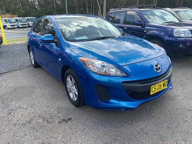 Used Mazda 3  , 2012 Mazda 3 NEO BLII UPGRAD AUTO Blue 4 Speed Automatic Hatchback