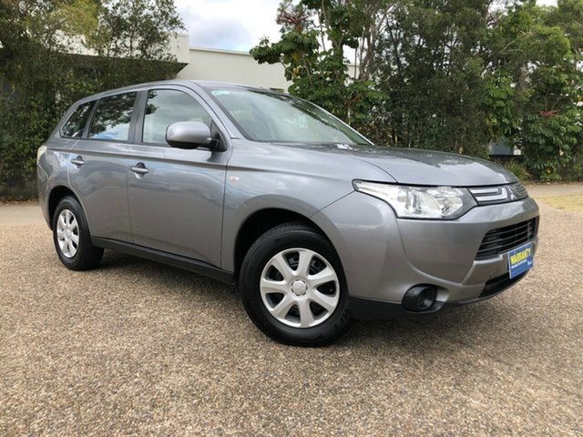 Used Mitsubishi Outlander ZJ MY13 ES 4WD, 2012 Mitsubishi Outlander ZJ MY13 ES 4WD Grey 6 Speed Constant Variable Wagon
