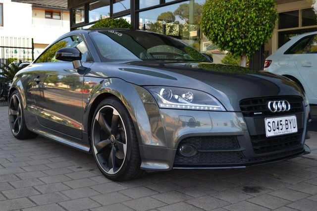 Used Audi TT 8J MY12 S Tronic Quattro, 2012 Audi TT 8J MY12 S Tronic Quattro Grey 6 Speed Sports Automatic Dual Clutch Coupe