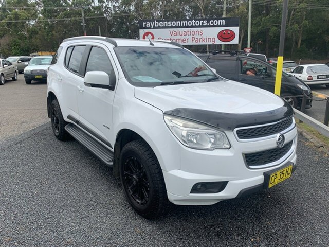 Used Holden Colorado 7  , 2012 Holden Colorado 7 LT 4X4 7 seater White 6 Speed Automatic Wagon