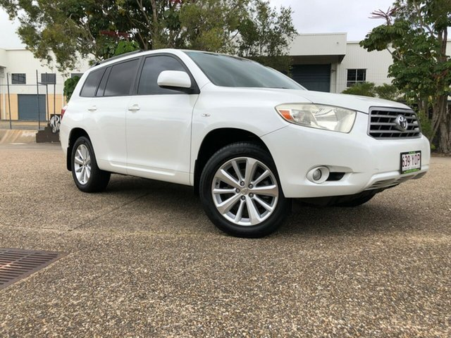 Used Toyota Kluger GSU45R Altitude AWD, 2009 Toyota Kluger GSU45R Altitude AWD White 5 Speed Sports Automatic Wagon