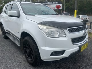 2012 Holden Colorado 7 LT 4X4 7 seater White 6 Speed Automatic Wagon