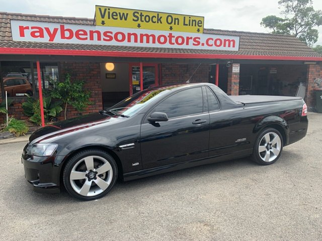 Used Holden Commodore  , 2009 Holden Commodore VE SS-V 6.0 ltr  6 spd Black 6 Speed Manual Utility