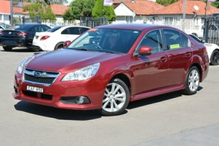 2014 Subaru Liberty B5 MY14 2.5i Lineartronic AWD Red 6 Speed Constant Variable Sedan.