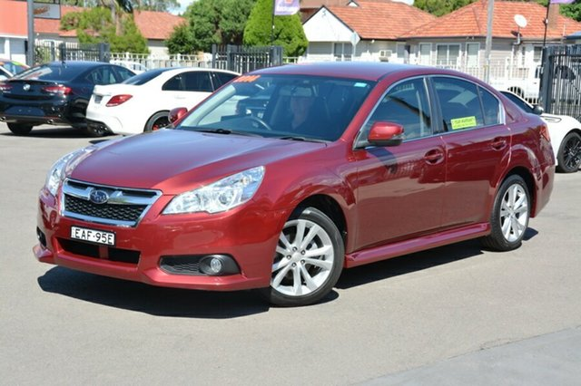 Used Subaru Liberty B5 MY14 2.5i Lineartronic AWD, 2014 Subaru Liberty B5 MY14 2.5i Lineartronic AWD Red 6 Speed Constant Variable Sedan