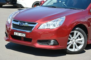 2014 Subaru Liberty B5 MY14 2.5i Lineartronic AWD Red 6 Speed Constant Variable Sedan