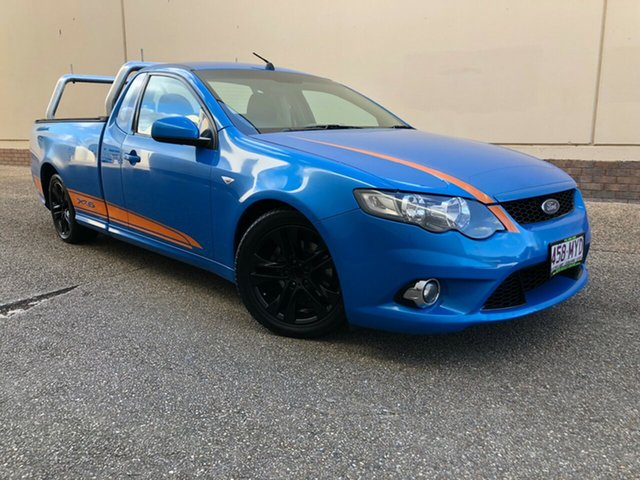 Used Ford Falcon FG XR6 Ute Super Cab, 2010 Ford Falcon FG XR6 Ute Super Cab Blue 6 Speed Manual Utility