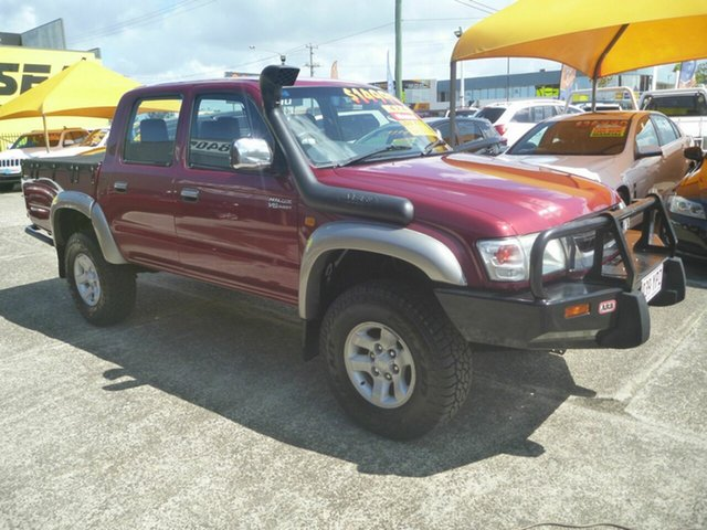 Used Toyota Hilux VZN167R MY04 SR5, 2004 Toyota Hilux VZN167R MY04 SR5 Red 5 Speed Manual Utility