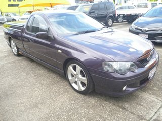2005 Ford Falcon BF XR8 Ute Super Cab Purple 6 Speed Sports Automatic Utility