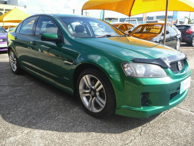 Used Holden Commodore VE MY10 SV6, 2010 Holden Commodore VE MY10 SV6 Green 6 Speed Sports Automatic Sedan