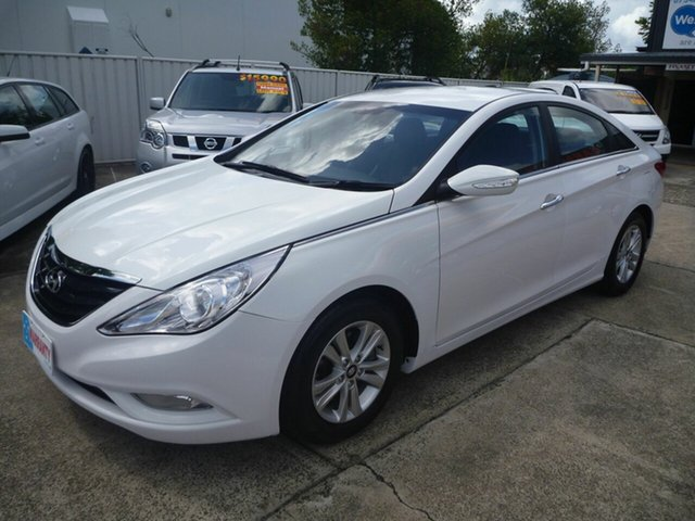 Used Hyundai i45 YF MY11 Active, 2012 Hyundai i45 YF MY11 Active White 6 Speed Sports Automatic Sedan