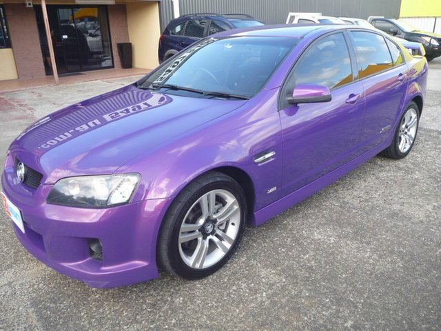 Used Holden Commodore VE SS, 2007 Holden Commodore VE SS Purple 6 Speed Manual Sedan