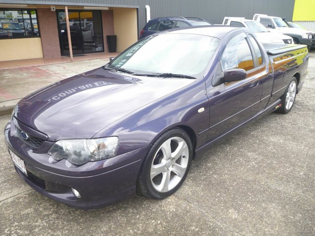 Used Ford Falcon BF XR8 Ute Super Cab, 2005 Ford Falcon BF XR8 Ute Super Cab Purple 6 Speed Sports Automatic Utility