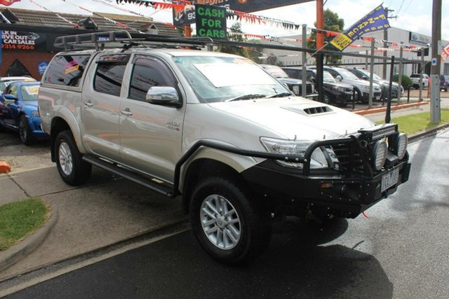 Used Toyota Hilux KUN26R MY14 SR5 (4x4), 2014 Toyota Hilux KUN26R MY14 SR5 (4x4) Silver 5 Speed Automatic Dual Cab Pick-up