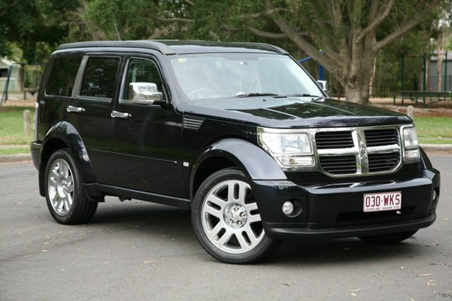 Used Dodge Nitro KA MY11 SXT, 2010 Dodge Nitro KA MY11 SXT Black 4 Speed Automatic Wagon