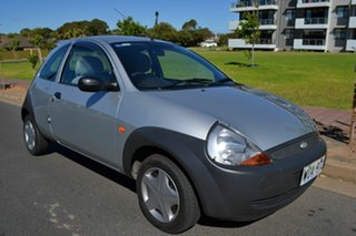 2001 Ford Ka TB 2 Collection Silver 5 Speed Manual Hatchback.
