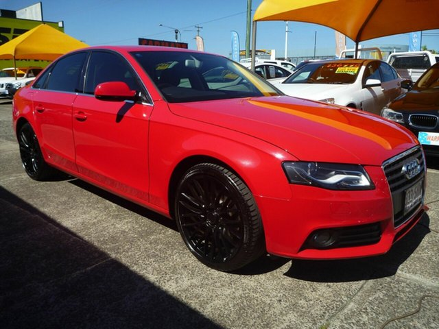 Used Audi A4 B8 8K MY12 Multitronic, 2012 Audi A4 B8 8K MY12 Multitronic Red 8 Speed Constant Variable Sedan