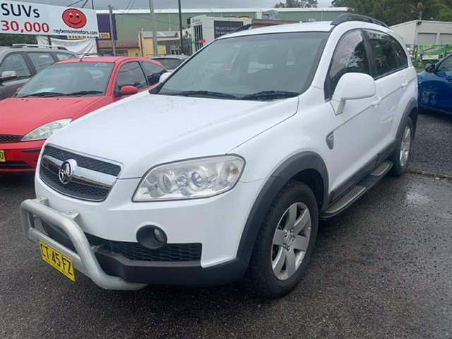 Used Holden Captiva  , 2008 Holden Captiva White 5 Speed Automatic Wagon