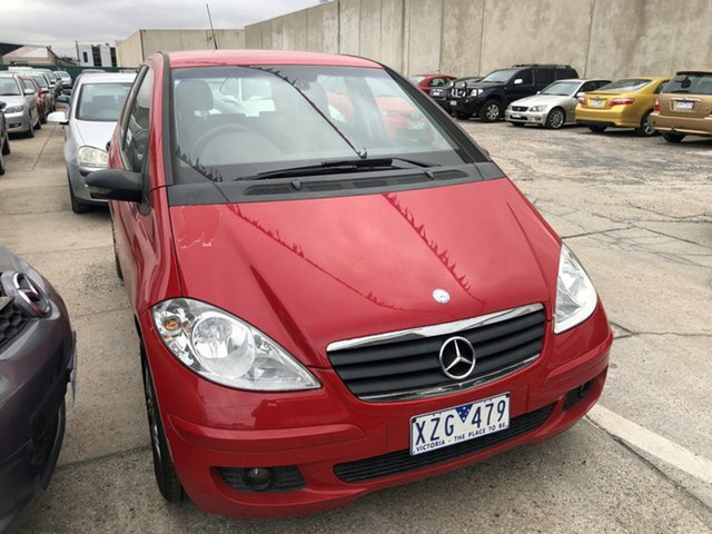 Used Mercedes-Benz A170 W169 Classic, 2005 Mercedes-Benz A170 W169 Classic Red 7 Speed CVT Auto Sequential Hatchback