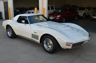 1971 Chevrolet Corvette C3 Stingray White 3 Speed Automatic.