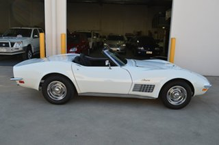 1971 Chevrolet Corvette C3 Stingray White 3 Speed Automatic