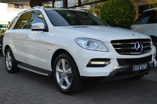 Used Mercedes-Benz ML250 W166 BlueTEC 7G-Tronic +, 2012 Mercedes-Benz ML250 W166 BlueTEC 7G-Tronic + White 7 Speed Sports Automatic Wagon