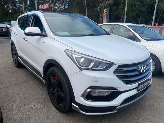 Used Hyundai Santa Fe  SR, 2016 Hyundai Santa Fe 7S 2.2D SR White 6 Speed Auto Active Select Wagon