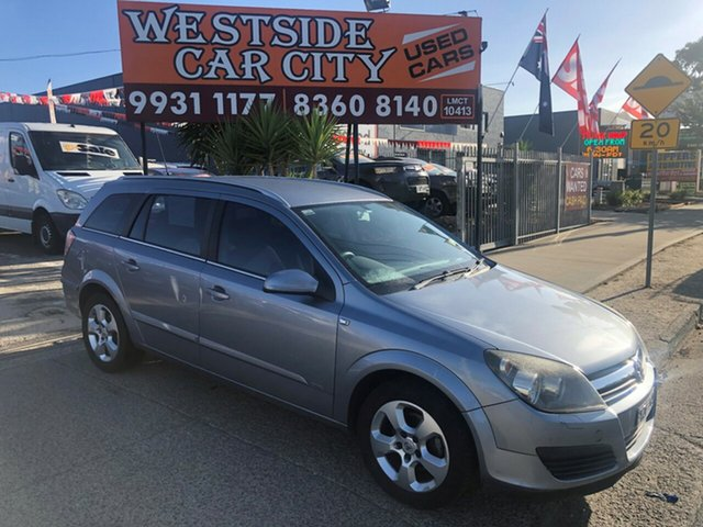 Used Holden Astra AH MY06 CD, 2006 Holden Astra AH MY06 CD Silver 4 Speed Automatic Wagon