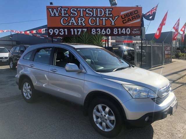 Used Honda CR-V MY07 (4x4) Luxury, 2009 Honda CR-V MY07 (4x4) Luxury Silver 5 Speed Automatic Wagon