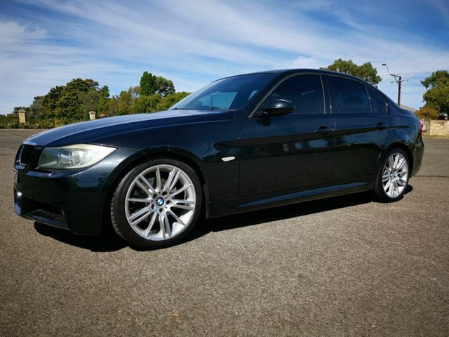 Used BMW 320d E90 08 Upgrade Executive, 2008 BMW 320d E90 08 Upgrade Executive Black 6 Speed Auto Steptronic Sedan