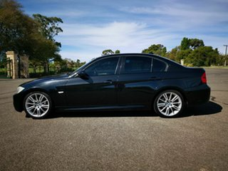 2008 BMW 320d E90 08 Upgrade Executive Black 6 Speed Auto Steptronic Sedan.
