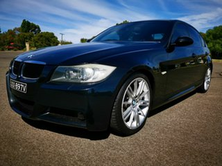 2008 BMW 320d E90 08 Upgrade Executive Black 6 Speed Auto Steptronic Sedan