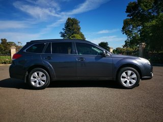 2011 Subaru Outback MY11 2.5I Gunmetal Continuous Variable Wagon.