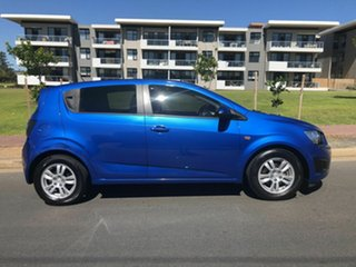 2012 Holden Barina TK MY11 Blue 4 Speed Automatic Hatchback.