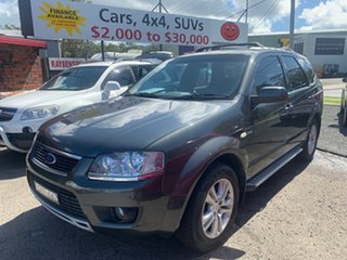 2009 Ford Territory SY MK11 AWD 6 S TS Grey 6 Speed Automatic Wagon.