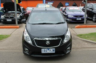 2010 Holden Barina Spark MJ CDX Blue 5 Speed Manual Hatchback.