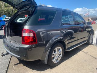 2009 Ford Territory SY MK11 AWD 6 S TS Grey 6 Speed Automatic Wagon