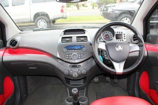 2010 Holden Barina Spark MJ CDX Blue 5 Speed Manual Hatchback