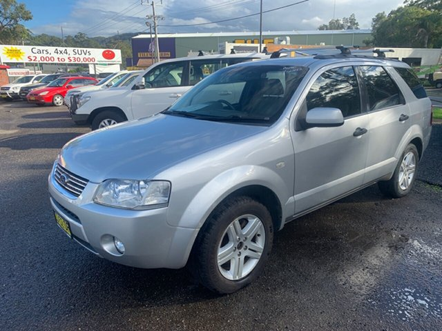 Used Ford Territory SX , 2005 Ford Territory SX 7 seater GHIA Silver 4 Speed Automatic Wagon