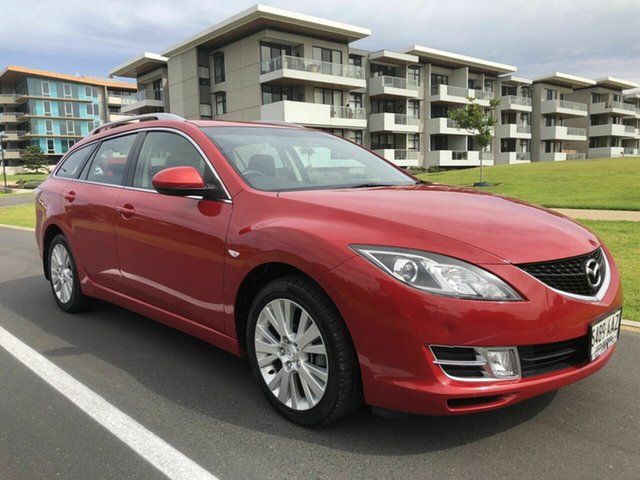 Used Mazda 6 GH1051 Classic, 2008 Mazda 6 GH1051 Classic Red 5 Speed Sports Automatic Wagon