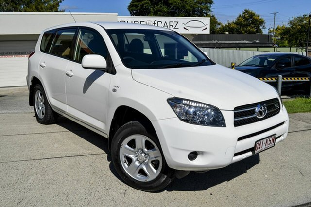 Used Toyota RAV4 GSA33R MY08 CV6, 2008 Toyota RAV4 GSA33R MY08 CV6 White 5 Speed Automatic Wagon