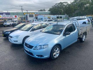 2009 Ford Falcon FG 1 TONNER Blue 5 Speed Automatic Cab Chassis