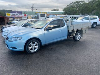 2009 Ford Falcon FG 1 TONNER Blue 5 Speed Automatic Cab Chassis.