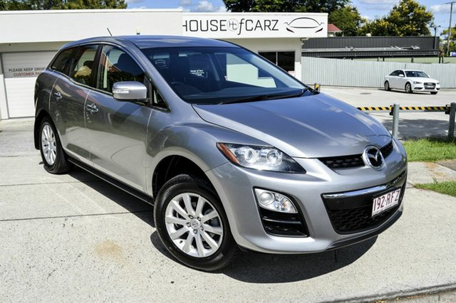 Used Mazda CX-7 ER10L2 Classic Activematic, 2010 Mazda CX-7 ER10L2 Classic Activematic Silver 5 Speed Sports Automatic Wagon