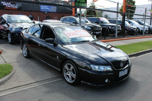Used Holden Commodore VZ SV6, 2005 Holden Commodore VZ SV6 Black 5 Speed Auto Active Select Sedan