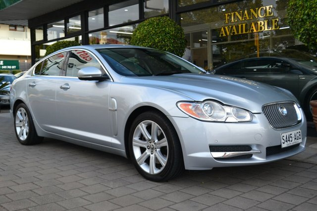 Used Jaguar XF X250 MY10 Luxury, 2010 Jaguar XF X250 MY10 Luxury 6 Speed Sports Automatic Sedan