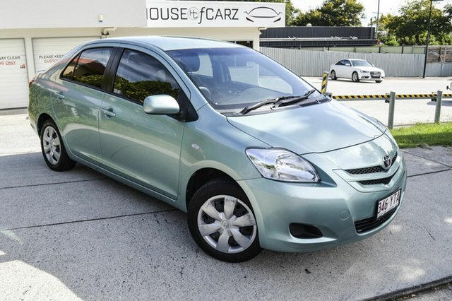 Used Toyota Yaris NCP93R YRS, 2007 Toyota Yaris NCP93R YRS Green 5 Speed Manual Sedan