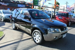 2004 Ford Territory SX TX (RWD) Black 4 Speed Auto Seq Sportshift Wagon.