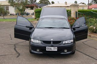2002 Holden Commodore Vuii SS Black 4 Speed Automatic Utility